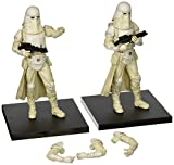 Kotobukiya KotSW93 - Sammelfiguren, Star Wars, Army Builder Snowtrooper Set of 2 Artfx plus Series, 19 cm