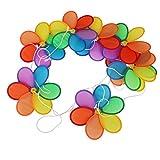 #10: Generic Flower Windmill Wind Spinner Tent Garden Decoration Multi Colors 8Pcs