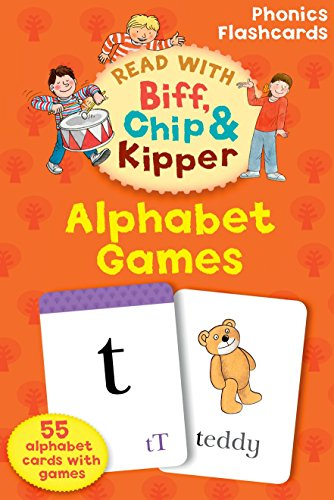 Oxford Reading Tree Read With Biff, Chip, and Kipper: Alphabet Games Flashcards (Alphabet Tree)