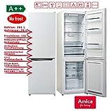 Amica KGCN 387 110 W Kühl-Gefrierkombination mit No Frost - 55er Breite, Weiß, A++