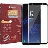 SAMAR – Samsung Galaxy S8 Plus Protector de Pantalla Vidrio Templado [Tempered Glass Screen Protector] para Samsung Galaxy S8+ Calidad Premium - Ultra fino, ligero y redondeado