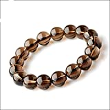 Arihant Handicrafts Smoky Quartz Bracelet For Mental Piece Natural Smoky Quartz Bracelet Free Size Unisex
