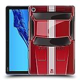 Head Case Designs Speed Rot Klassische Automobile Soft Gel Hülle für Huawei MediaPad M5 Lite