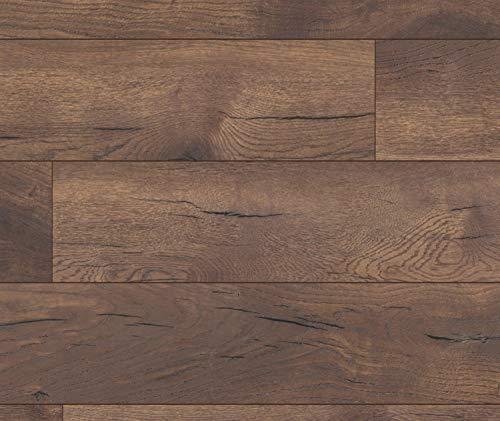 KRONOTEX Laminat Nussbaum Landhausdiele Exquisit Plus D 4710 Mataro I f/ür 26.64 /€//m/²