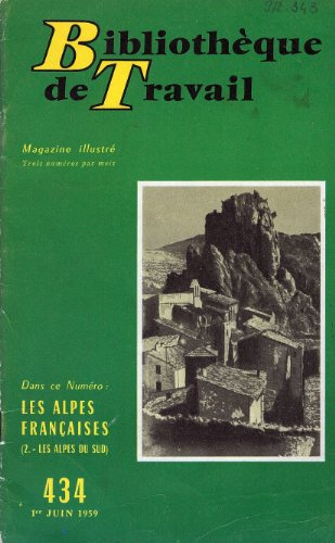 Les Alpes Francaises BT N°434