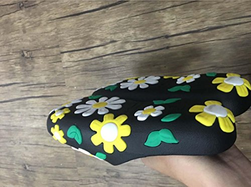 Trend Big Flower Non Slip Mode 2017 Chic Slipper Yellow