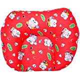 GURU KRIPA Baby Products ® Presents New Born Baby Soft Cotton Fabric Mustard Seeds Rai Pillow For Baby Head Shaping U Shape Takiya Feeding & Nursing Baby Neck Pillow (Red)