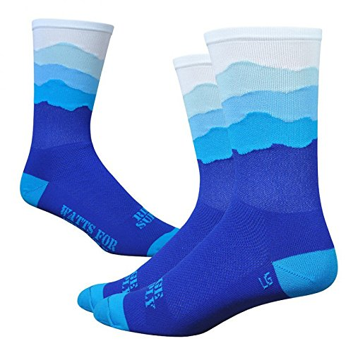 DEFEET – CALCETINES DEFEET RIDGE SUPPLY SKYLINE AZUL – L (43 – 45 5)