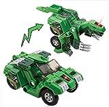 Verformbare Dinosaurier-Spielzeug-Auto für Kinder, Grün
