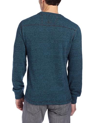 prAna – Herren Owen Crew Sweater Blau (Ink Blue)