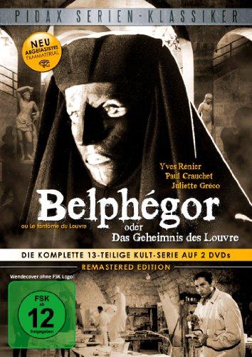 Bild von Belphégor oder Das Geheimnis des Louvre (Remastered Edition) Die komplette 13-teilige Kult-Serie (Pidax Serien-Klassiker) [2 DVDs]