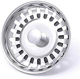 Kitchen Sink Strainer Waste Plug (McAlpine bwstss-top) chrome