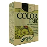 TINTE 3 CASTAÑO COLOR ERBE 135 ML