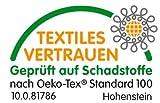 """wohnTRAUM24 XXL-Frottiertuch, 100% Bauwolle-Walkfrottee 480g/m2, mit Webbordüre und edler Stickerei, 80 x 200 cm – fuchsia """"Badenixe"""" - 3"""