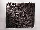 TISCA Originaler Handweb Teppich Olbia COLLINA Extrem Hochwertig verarbeiteter handgewebter handwebteppich in schwerster Luxus Qualität (Muster, 1010 Mokka)