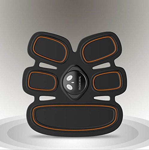 G-K Deportes y aire libre / Fitness / Masaje Cinturones y estimuladores eléctricos EMS Cinturón de tonificación muscular abdominal Inicio Fitness Entrenamiento Gear, Almohadillas de vibración para hombres y mujeres a tono, Pérdida de peso, Trimmer, Slender, Shaper, Fuerte