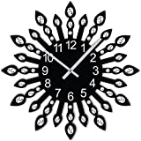 #10: Studio Shubham jewel leaf round handmade wall clock (29cm x 29cm x 5cm)