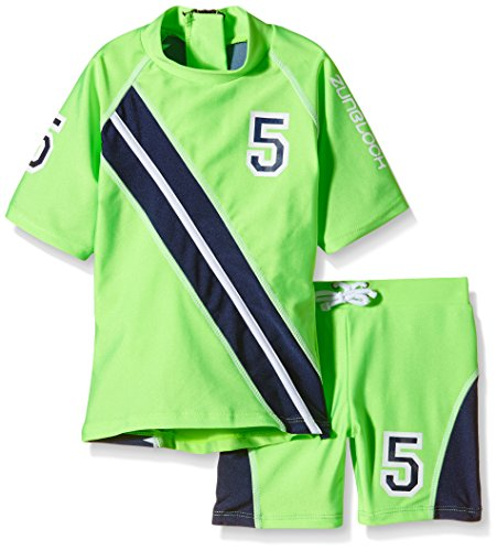 Zunblock Baby UV 50 Plus Sets Stars and Stripes Lime/Navy, 74/80 -