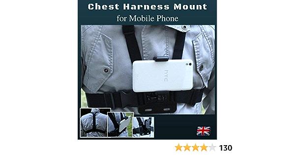 Designo Brust Körpergurt Für Handy Elektronik