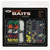 NGT Unisex Artificial Baits Carp/Coarse Fishing (Pack of 55), Transparent, One Size