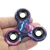 Hand Fidget Spinner, Omiky® Milky Galaxy Tri Fidget Spinner