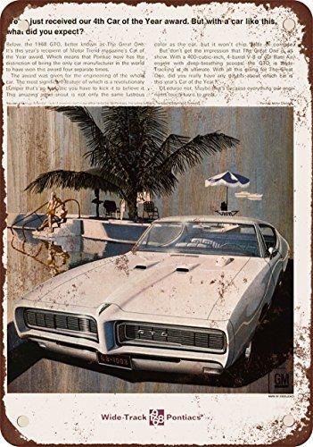 1968-pontiac-gto-vintage-look-reproduccion-metal-tin-sign-8-x-12-pulgadas-4