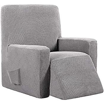 Tardor housse fauteuil de 1 place relax Gris6 Elastique fYv7gb6y