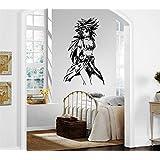Venta caliente Dragon Ball Z cutedesigncases Manga arte creativo de PVC de alta calidad wallkraft extraíble pegatinas de pared para la decoración del hogar Murales para la sala de estar dodoskinz para dormitorio