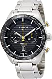Tissot Herren-Armbanduhr Analog Automatik, Gangreserve ca. 60 Std One Size, schwarz, Silber