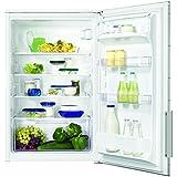 Zanussi ZBA15040WA Kühlschrank / A++ / 87,30 cm Höhe / 96 kWh/ Jahr / Dekorfähig / Eingebaut / weiß