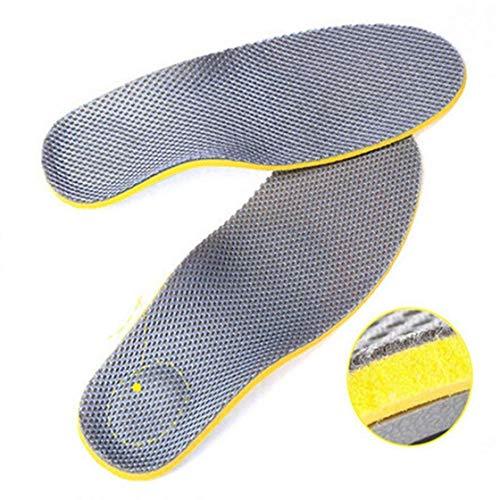 Ferbixo comfort plantare supporto plantare solette per sport scarpe e stivali da lavoro per alleviare dolore dovuto a piede piatto piede e della fascite plantare (uomo)