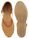 TAAT Women's Napa Leather Fashion Belly Shoe T-40