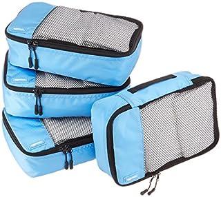 AmazonBasics Lot de 4sacoches de rangement pour bagage TailleS, Bleu Ciel (B014VBHUJ2)   Amazon Products
