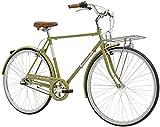 28 Zoll Herren City Fahrrad Adriatica Holland Man, Farbe:olivgrün