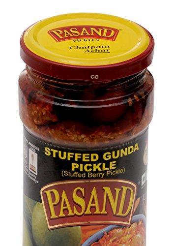 Pasand Khaman Gunda Pickle 400 G In Glass Jar
