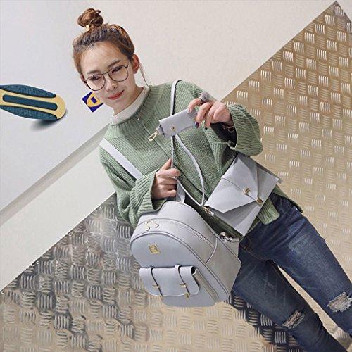 Dairyshop zaino donna borsa da viaggio dello zaino alla borsa da viaggio dello zaino delle donne (Grigio chiaro) Grigio chiaro