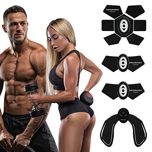 Elettrostimolatore muscolare professionale stimolatore ems addominali braccia gambe glutei • elettrostimolatore addominali glutei allenatore modellare tonificare dimagrire stimolatore usb donna uomo