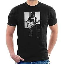 Rolling Stones Keith Richards Playing Guitar Men's T-Shirt