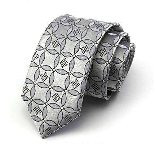 Yetta Home 7 cm Silbergrau chinesischen Stil Krawatte klassischen Design 100% Seide männer binden allgleiches Partei lässig geschäft bankett Hochzeit bräutigam