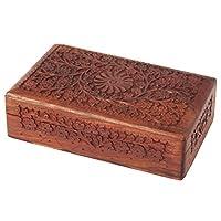 WhopperIndia Storage Box, Vintage Box, Keepsake Jewelry Organizer Box