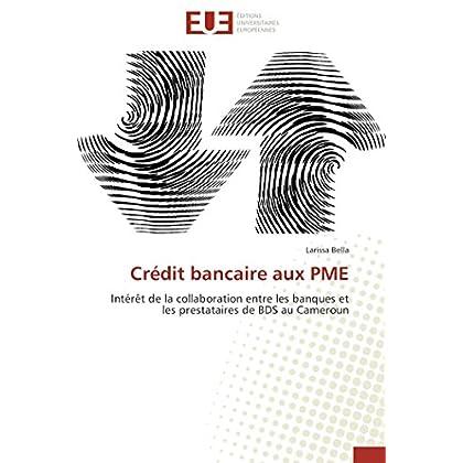 Crédit bancaire aux pme