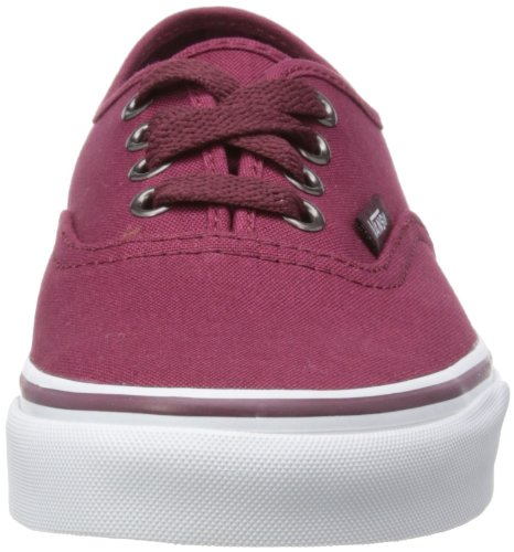 Vans U Authentic - Baskets Mode Mixte Adulte Rouge (Rumba Red/Port)