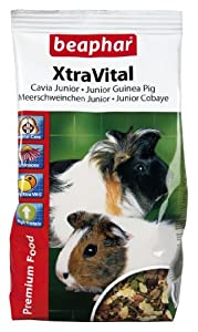Beaphar XtraVital Junior Guinea Pig Food 500 g (Pack of 5)