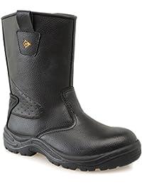 Dunlop Safety Herren Rigger Arbeitsstiefel Wasserdicht Stiefel Sicherheit Schuhe
