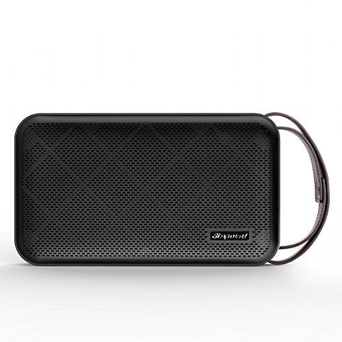 Simpowel V10 – Bluetooth Lautsprecher 4.0 Tiefer Bass 20W Tragbar Drahtloser Lautsprecher Mit TI 5 Serie DSP und Einbauen Micro SD MP3 plaer Mikrofon Bis zu 10 Stunden Spielzeit (Schwarz) - 3