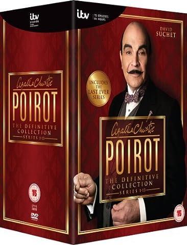 Hercule Poirot - Series 5 / Agatha Christie: Poirot - The Definitive Collection (13 Series) - 35-DVD Box Set ( Agatha Christie's Poirot ) [ Origine UK, Sans Langue Francaise