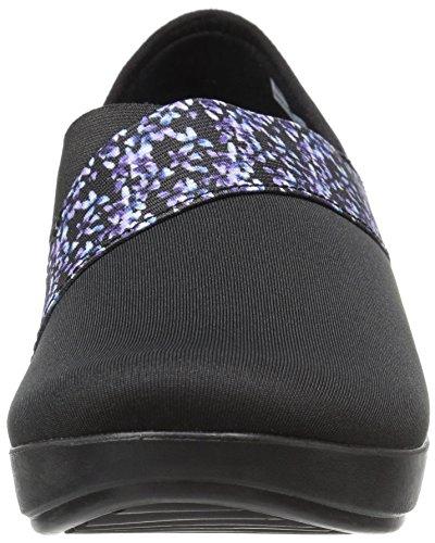 Crocs BusyDay Asym Wedge Graphique Femmes Black/Floral