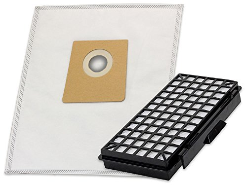 10 Mikrovlies Staubsaugerbeutel mit Feinstaub-Filterung und 1 Hepa-Filter Mikrofilter geeignet für Siemens VSQ5X1238/04 Q 5.0 Extreme