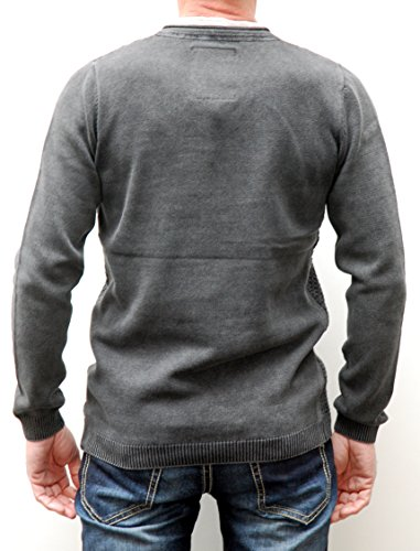 Key Largo, Herren Pullover, Movie,V-Neck in 2 Farben Anthra