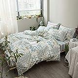 Kexinfan Bettbezug Bettlaken aus Baumwolle, 4-Teiliges Set Bettlaken Bett, Bettwäsche, Prime years, 2.0M (6.6 Ft) Bett